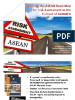 AADDMER and the risk assessment component of the AADMER Work Programme (Marqueza Reyes)