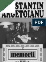 Constantin Argetoianu- Memorii. Pentru cei de mâine. Amintiri din vremea celor de ieri. Volumul 10, Partea a VIII-a. 1932-1934