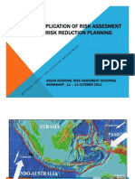 Application of Risk Assessment in DRR Planning in Indonesia (Anas Lutfi)