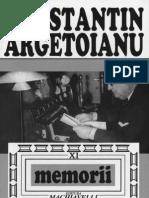 Constantin Argetoianu- Memorii  pentru cei de mâine, amintiri din vremea celor de ieri. Volumul 11 . Pe urmele trecutului . O călătorie în Egipt