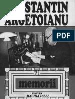 Constantin Argetoianu- Memorii pentru cei de mâine. Amintiri din vremea celor de ieri. Volumul 06, Partea a VI-a . 1919-1922