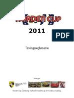 Tävlingsreglemente 2011