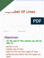 1. Alphabet of Lines