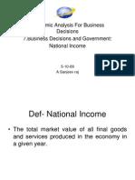 7. National Income