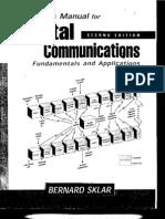 Sklar_Solution mannual-Digital Communications Fundamentals