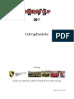 Ordningsföreskrifter 2011