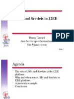 JSP and Servlets in J2EE [ Sun Microsystems Presentation ]