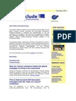E-Include Newsletter - 17 October 2011