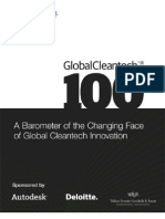 Cleantech Group 2011 Global Cleantech 100 Report