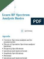 aprendiendo las basesdel espectri RF
