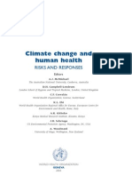 Climchange and Health Book