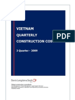 Vietnam Quartely Construction Cost Q3 2009 - DLS