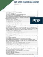 TDMS FAQs