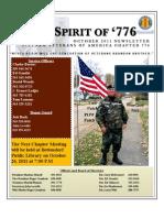 VVA Chapter 776 - October 2011 Newsletter