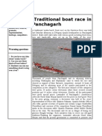 Traditional Boat Race in Panchagarh