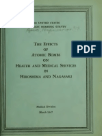 USSBS Report 13, The Effects of the Atomic Bombs on Health Services in Hiroshima and Nagasaki