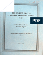 USSBS Report 10, Summary Report Covering Air Raid Protection and Allied Subjects in Japan