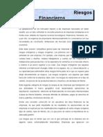 Riesgos Financieros - Sector Export Ad Or