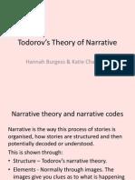 Todorov's Narrative Theory by Hannah and Katie