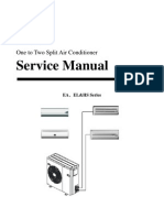 AUX-Service Manual of Multi Split