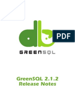 GreenSQL 2.1.2 Release Notes