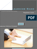 The E-Learning Game