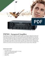 Marantz PM7004 Brochure