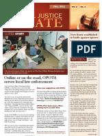 Criminal Justice Update Fall 2011 (PDF)
