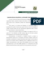 Comunicado-Deceso Israel García Lucca