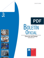 Boletin Oficial DT 2011-09