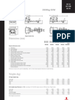 Euro 5 3.5t Technical Specification Sheet