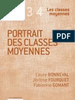 Portrait des classes moyennes - Laure Bonneval, Jérôme Fourquet et Fabienne Gomant