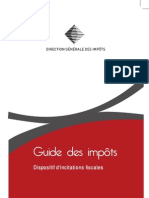 guide des impots dispositifs d'incitation fiscale édition 2011