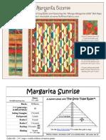 Margarita Sunrise Quilt Pattern