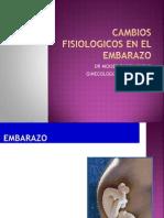 Fisiologia Gestacional Parto y Puerperio