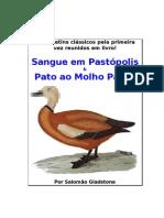 Sangue em Pastópolis e Pato ao Molho Pardo - Salomão Gladstone