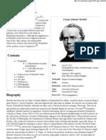 Gregor Mendel - Wikipedia, The Free Encyclopedia