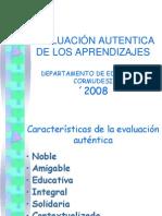 Evaluacion Autentica de Los Aprendizajes