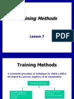 Training Methods