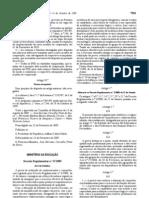Decreto Regulamentar 27 2009 - Prova Acesso
