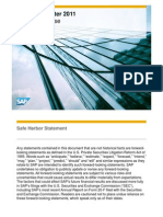 SAP Q2 2011 Presentation E