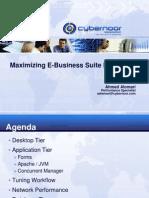 Maximizing E-Business Suite Performance