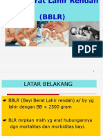 Bayi Berat Lahir Rendah