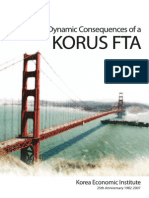 Dynamic Consequences of a Korea-U.S. Free Trade Agreement
