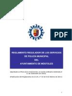 to Regulador de Los Servicios de Policia Municipal