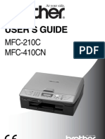 Brother MFC210C User Manual