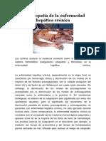 Coagulopatía de la enfermedad hepática crónica