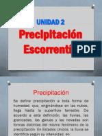Unidad 2 Precipitacion
