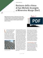 Costruire in Laterizio138_Restauro S Michele Minervino Murge