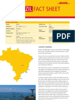 Exporting to Brazil? DHL Fact Sheet